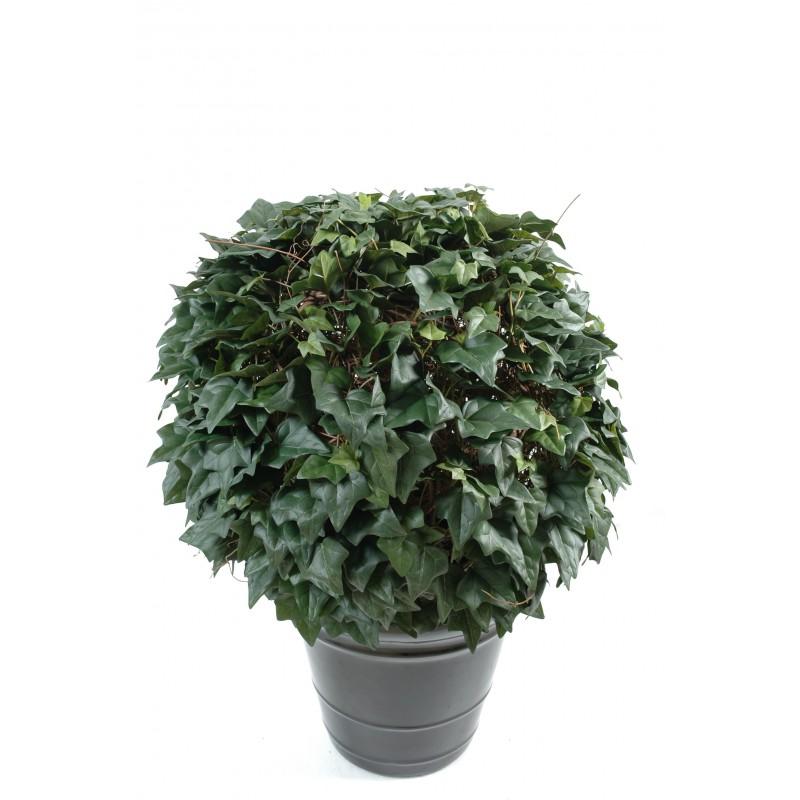 Lierre boule artificiel en tergal vert 3 dimensions for Arbuste artificiel