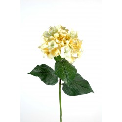 Hortensia artificiel 1 tête