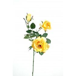 Rose artificielle Margaux 2F 1B