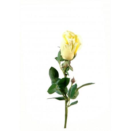Rose artificielle joey bouton ouvert en tige de 67 cm de - Rose avec tige ...