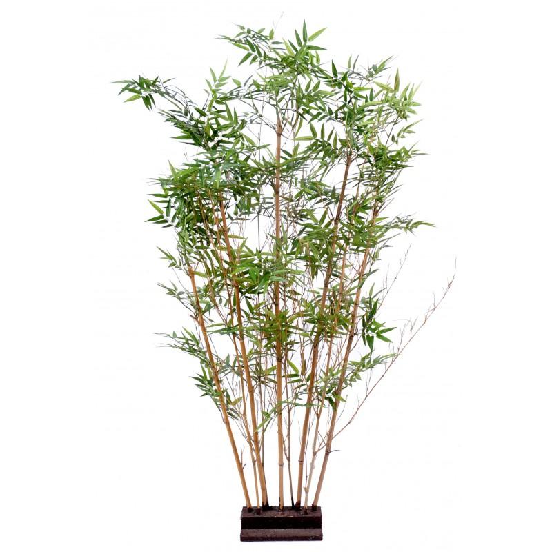 Haie artificielle de bambou oriental de 150 cm de hauteur - Haie bambou artificiel exterieur ...