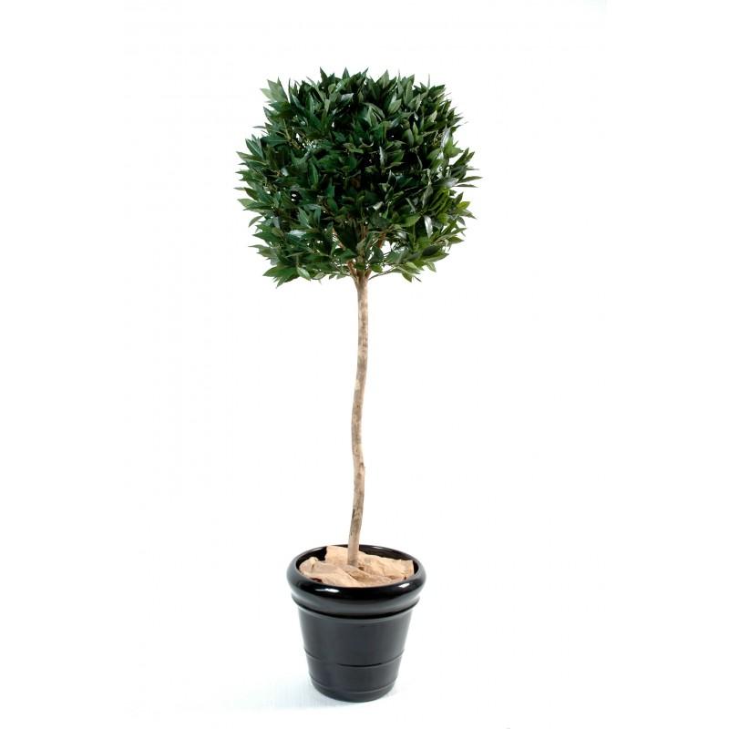 Laurier artificiel boule tige uv r sistant 150 cm pour for Plantes artificielles pour exterieur