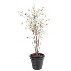 Cerisier Fleurs New artificiel 150 cm de hauteur blanc