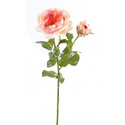 Rose artificielle Damask