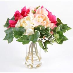 Bouquet artificiel de Pivoines