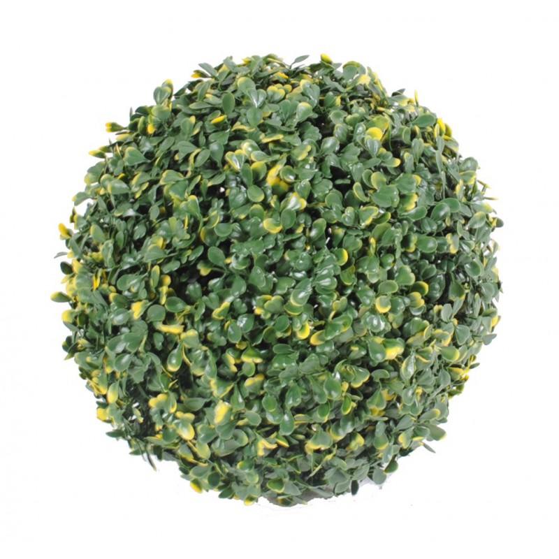Boule de buis artificiel pour ext rieur pour ext rieur 3 for Plantes artificielles pour exterieur