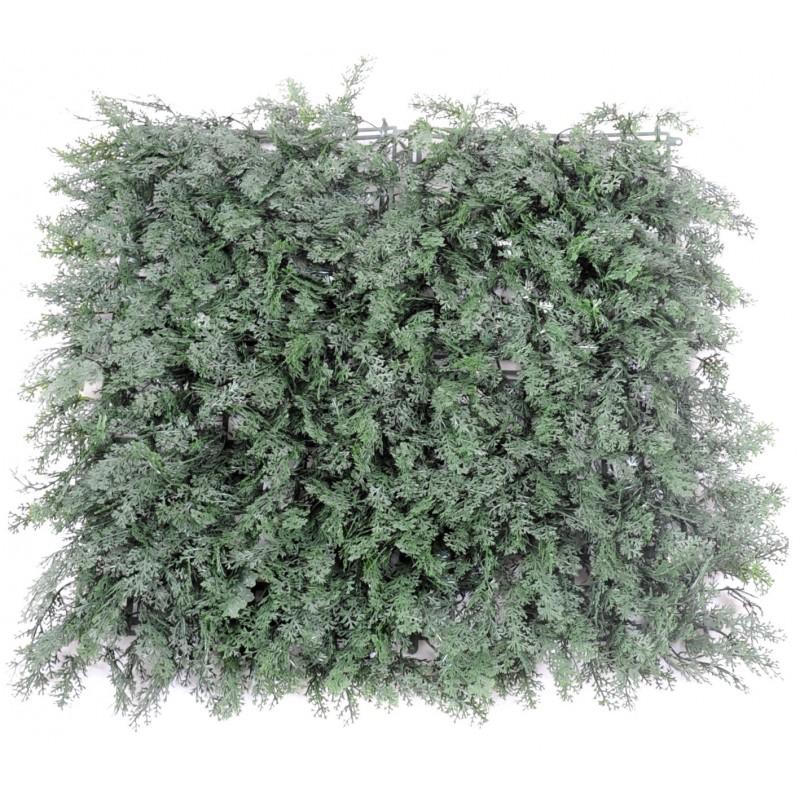 Cypr s plaque artificiel de 51 cm x 51 cm pour ext rieur for Plante artificielle pour exterieur pas cher