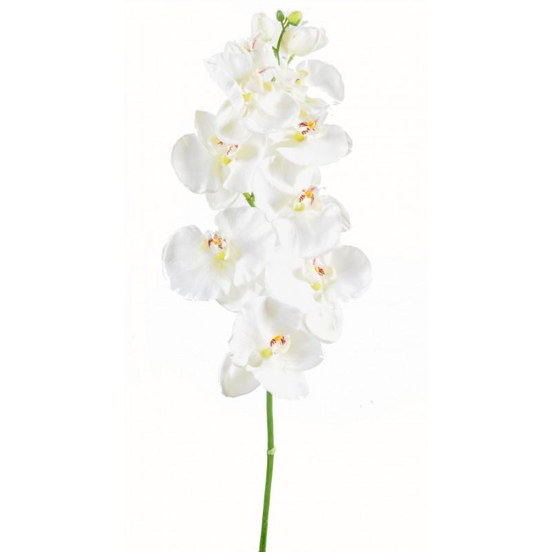 Tige d 39 orchid e phalaenopsis large artificiel mesurant 110 - Doit on couper les tiges des orchidees ...