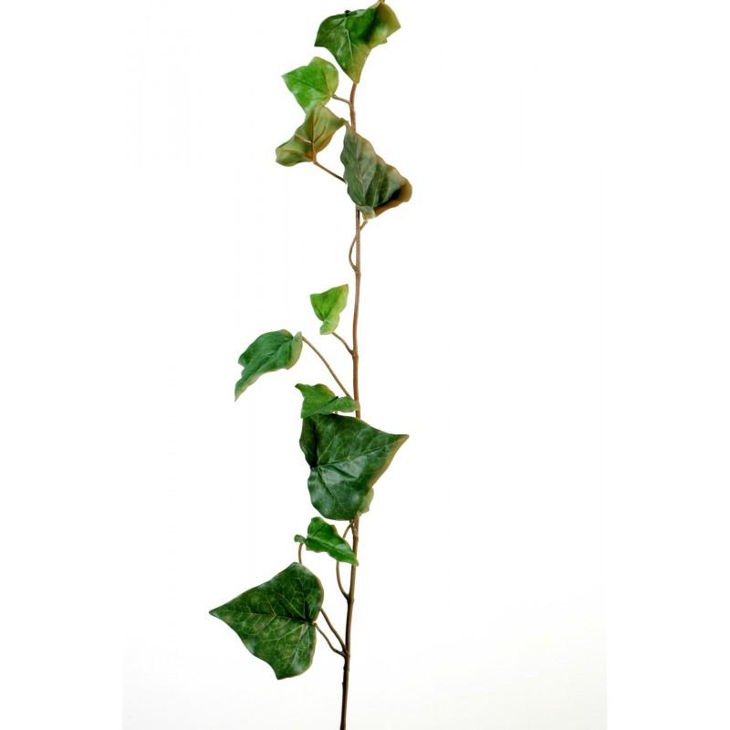 Tige de lierre artificiel de 90 cm de hauteur en tergal for Lierre artificiel en pot