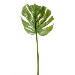 Feuille de Philodendron Monstera artificielle en tige de 45 cm ou 75 cm de hauteur
