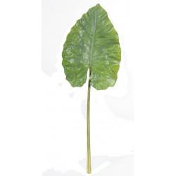 Feuille Géante d'Alocasia artificielle 160 cm de hauteur