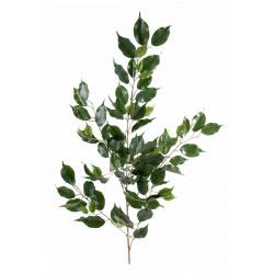 Branche de Ficus Exotica Spray artificiel de 108 cm de hauteur et 46 cm de largeur