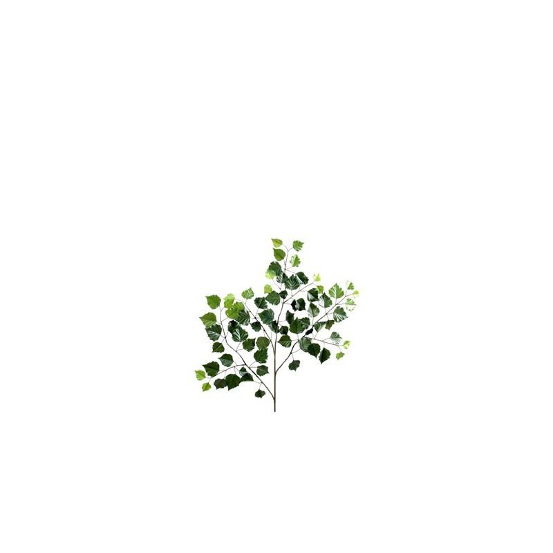 branche de bouleau new artificiel de 70 cm de hauteur en tergal vert. Black Bedroom Furniture Sets. Home Design Ideas