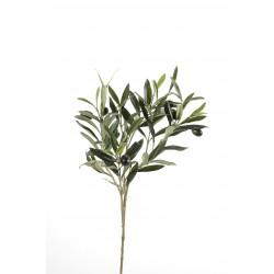 Rameau d'olivier artificiel de 54 cm de hauteur et 30 cm de largeur