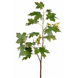Branche d'érable artificiel de 1 mètre de hauteur et 18 cm de largeur