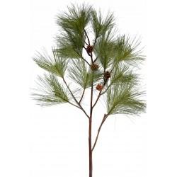 Branche de Pin artificiel de 160 cm de hauteur avec pommes de pin