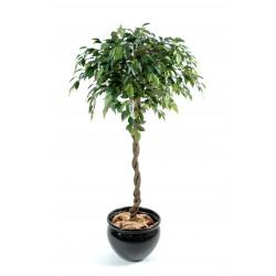 Ficus Boule Natasja artificiel de 140 cm de hauteur