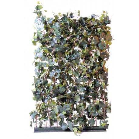 haie artificielle de vigne de 180 cm de hauteur et 135 cm de longueur. Black Bedroom Furniture Sets. Home Design Ideas