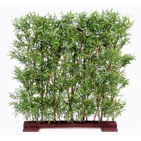 haie artificielle de bambou oriental dense 110 cm et 150 cm sur socle. Black Bedroom Furniture Sets. Home Design Ideas