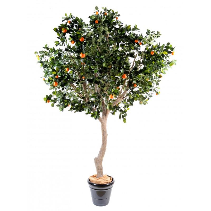 Oranger artificiel arbre large de 2m80 de hauteur for Arbres artificiels pour exterieur