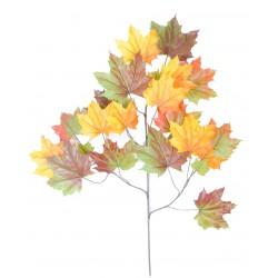 Tige de Platane Spray artificiel 79 cm de hauteur composée de 23 feuilles