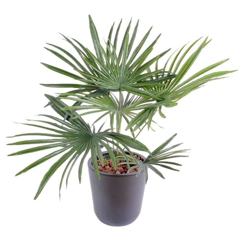 Palmier baby artificiel for Feuille palmier artificiel
