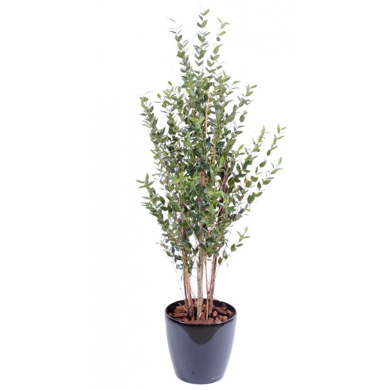 eucalyptus buisson artificiel de 130 cm de hauteur. Black Bedroom Furniture Sets. Home Design Ideas