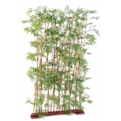 Bambou artificiel Oriental Haie 185