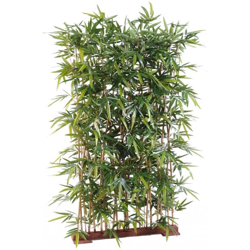 haie artificielle de bambou new 150 cm et 180 cm de hauteur sur socle. Black Bedroom Furniture Sets. Home Design Ideas