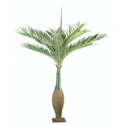 Palmier artificiel bouteille