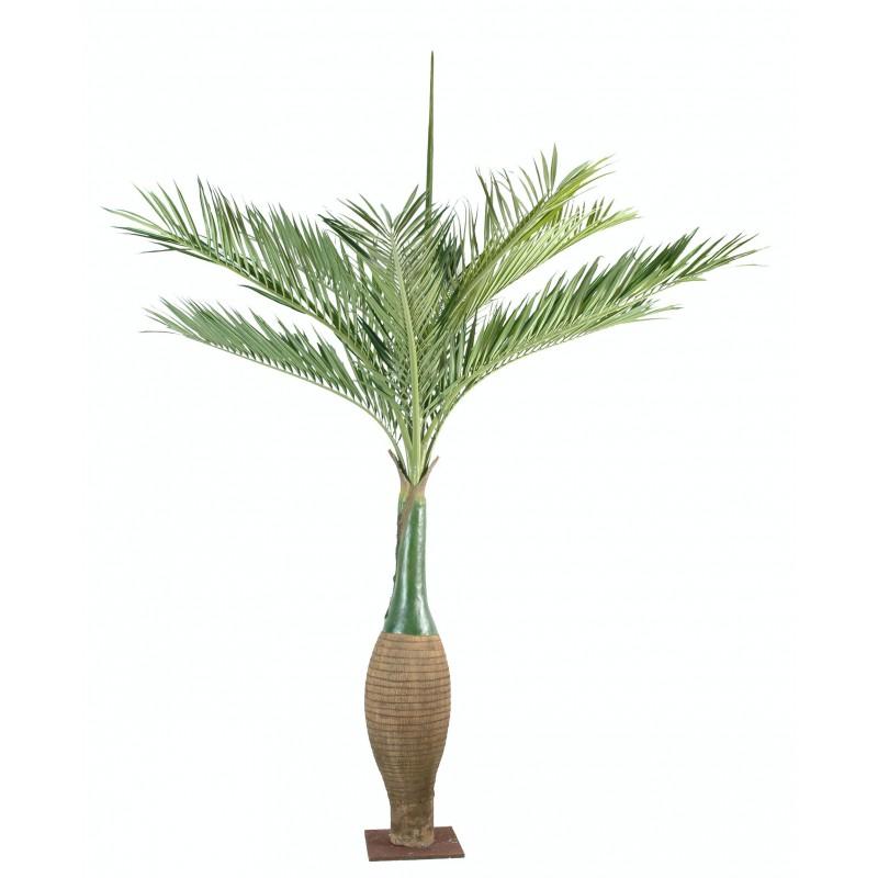 Palmier bouteille artificiel haut de gamme for Plantes vertes artificielles haut de gamme