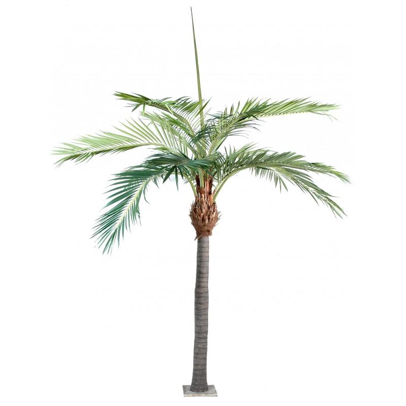 Palmier artificiel de 4 m tres de hauteur - Plante artificielle palmier ...