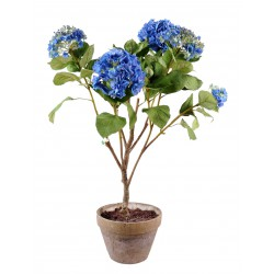 Hortensia artificiel Pot en Terre