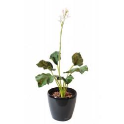 Hosta fleuri artificiel en piquet 82 cm de hauteur