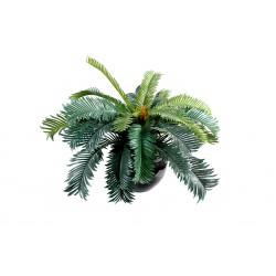 Cycas artificiel 25 cm / 20 feuilles