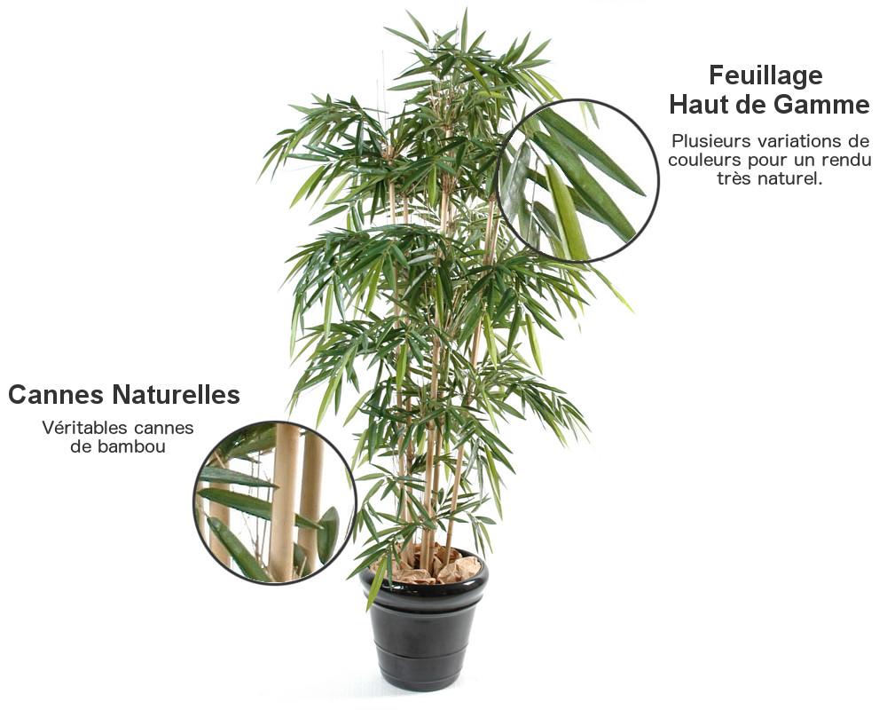 Détails bambou artificiel new